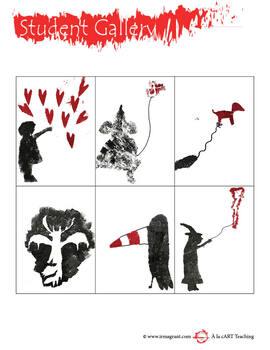 Banksy Stencil Art