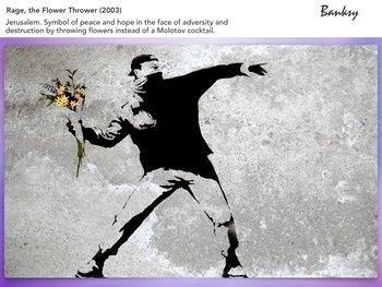 Banksy - UK Artist Street Art Graffiti Political Activism