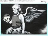 BANKSY Art - SHOW + TEST = 250 Slides - Street Art Graffiti Political Activism
