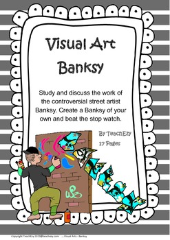 Banksy - Visual Art Activity for Years 5/6/7