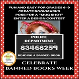 Banned Books Week Activities for Reading or Library