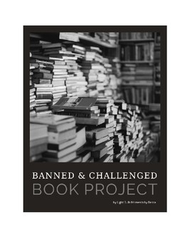 Banned Book Poster/Research Project