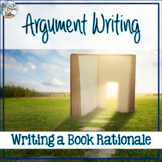 Banned Books Activity - Writing a Book Rationale