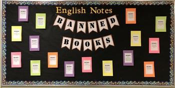 Banned Books Bulletin Board