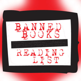 Banned Books Reading List