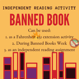 Banned Books Week Activity- Fahrenheit 451 Extension- Independent Reading