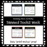 Banned Books Week - Amazing Race Style Game