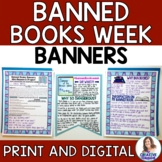 Banned Books Week Banners and Mini-Research Project
