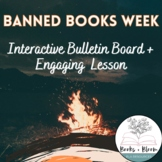 Banned Books Week Interactive Bulletin Board Printables & Full-Day's Lesson Plan