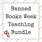 Banned Books Week - Lesson and Breakout Bundle