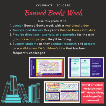 Banned Books Week- collaborative project (honors)