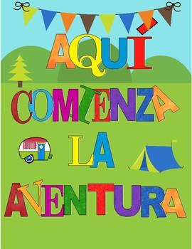 Banner Aquí comienza la aventura Motivo Camper