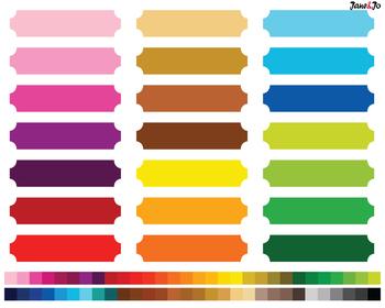 Banner Clip art Rainbow Ribbon Clipart Borders Clipart Label frame Clipart Tag