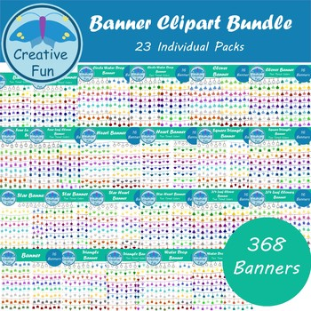 Banner Clipart Bundle