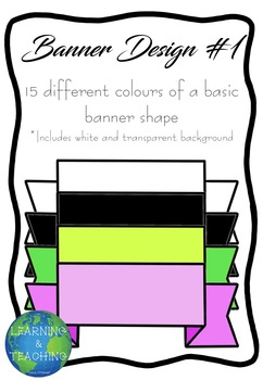 Banner Design 1 Clip Art