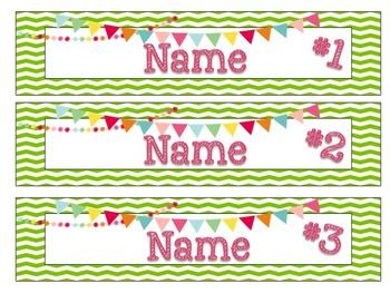 Banner Desk Name Plates