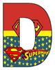 Banner Día de Logros Motivo Super Heroes