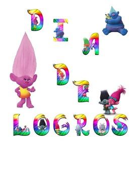 Banner Día de Logros Motivo Trolls
