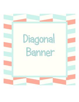 Banner Diagonal