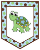 Banner – Editable – Coordinates with Turtle Time Classroom Theme
