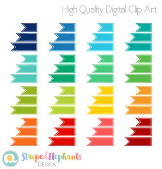 Banner Flag Clip Art