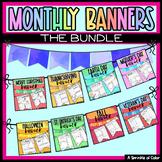 Year Long Bunting Banner Bundle - Growing Bundle