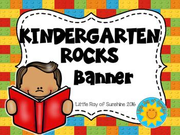 Banner - KINDERGARTEN ROCKS