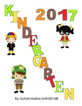 Banner Kindergarten 2017 Motivo Chavo del 8