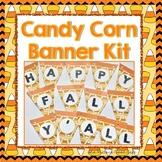 Banner Kit-Candy Corn