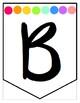 Banner Materials - Pastel Rainbow Dots