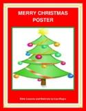"""""""Merry Christmas"""" Banner - Print and Hang!"""