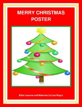 """Merry Christmas"" Banner - Print and Hang!"