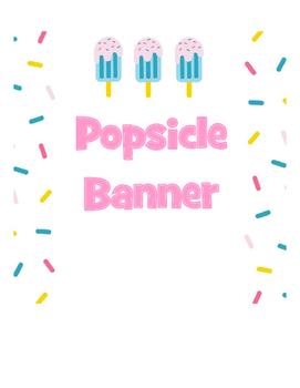 Banner Popsicle
