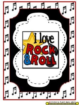 Banner (PreK - 5th) - Rock Star Theme