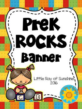 Banner - PreK ROCKS