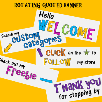 Rotating Quoted Banner