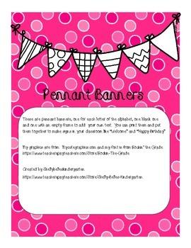 Banner Set - Pink Dot
