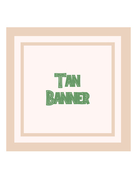 Banner Tan