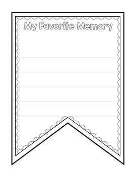Banner Templates, Differentiated Versions of DIY Pennants