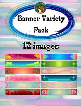 Banner Variety Pack Clip Art