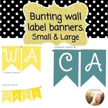 Banner Wall Labels