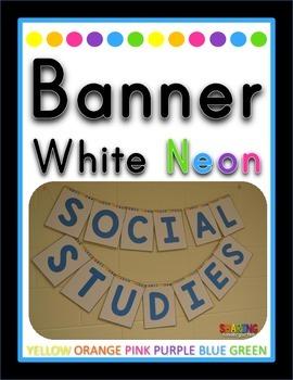Banner {White Neon}