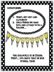 Banner in BW Polka Dot Print with Kids ~ Alphabet, Numbers