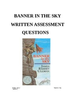 Banner in the Sky Comprehension Assessments