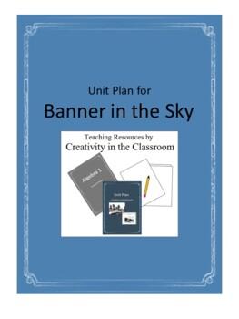 Banner in the Sky Novel Unit Plus Grammar