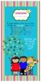 Banner para puerta de salón de clases niños y niñas