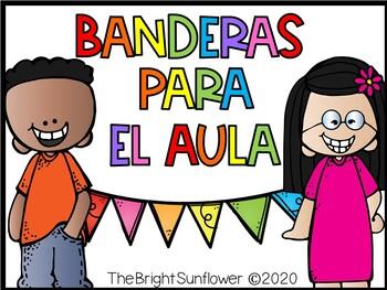 Banners for the Classroom/ Banderas para el aula