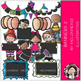 Banners clip art Part 2 - COMBO PACK- by Melonheadz
