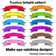 Banners: Bright Banners Clip Art Set