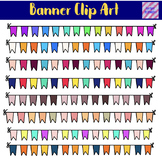 Banners Bunting Cute Clip Art